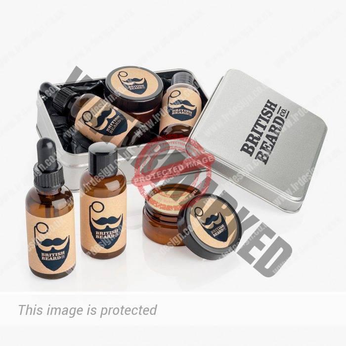 British Beard Company Branding