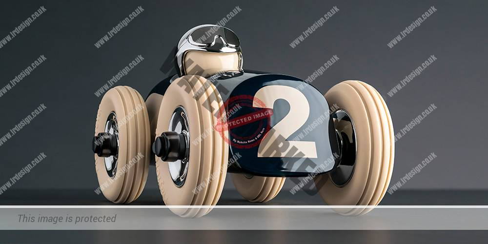 Toy Racing Car Photography