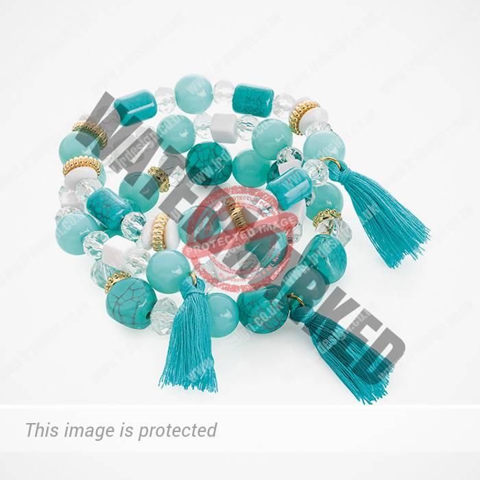 Three piece bracelet set.