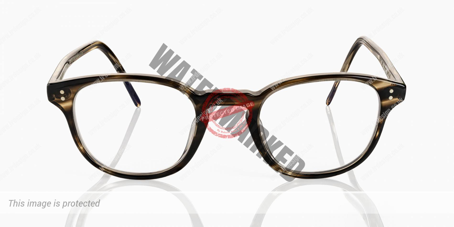Oliver Peoples designer glasses.