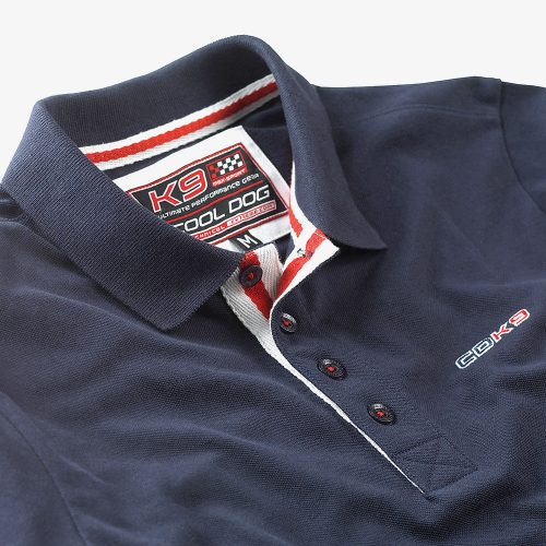 CDK9 Blue Polo Shirt.