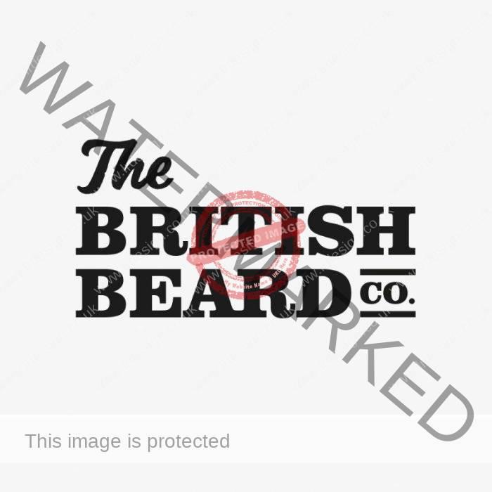 The British Beard Co. Logo.