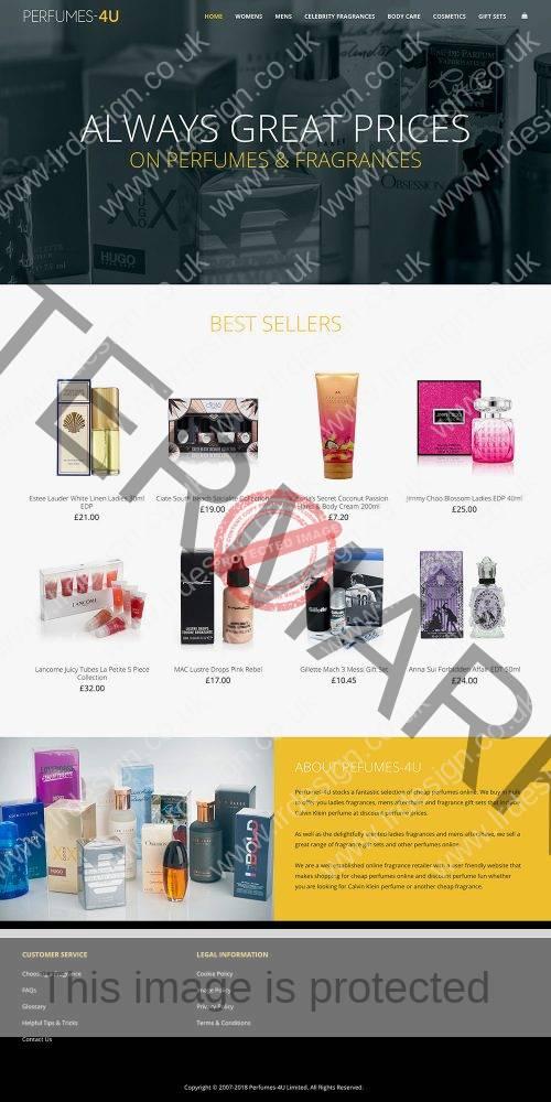 Perfumes-4U Website