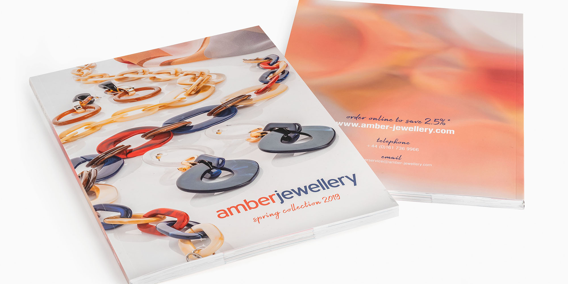 Spring 2019 Amber Jewellery Brochure.