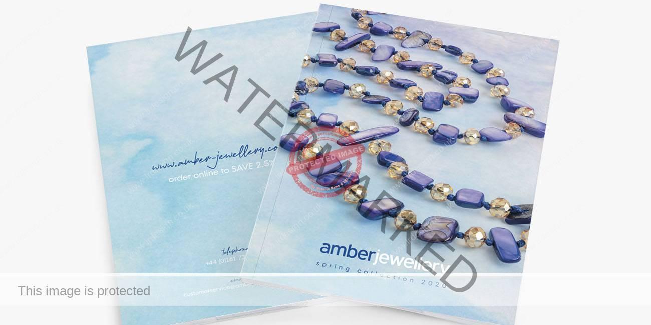 Spring 2020 Amber Jewellery Brochure.