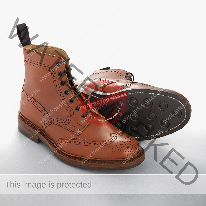 Tickler's handmade men's country boots.