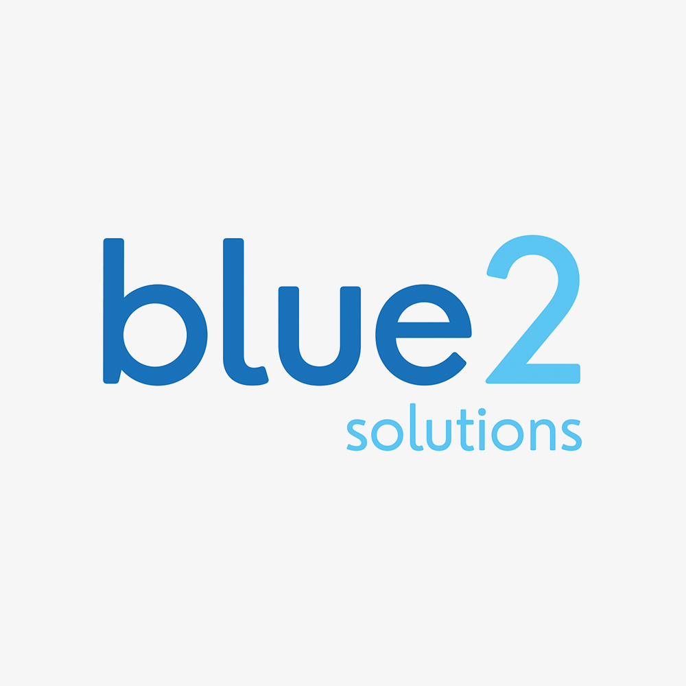 Company Logo for blue2 solutions.